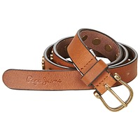 Accessorie Women Belts Pepe jeans MARGARET BELT Camel