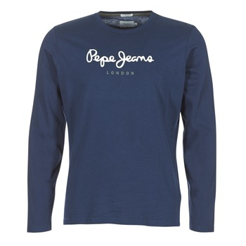material Men Long sleeved shirts Pepe jeans EGGO LONG MARINE