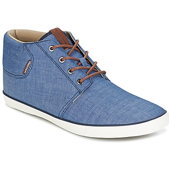 Shoes Men High top trainers Jack & Jones VERTIGO Marine