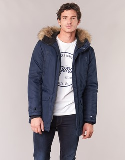 material Men Parkas Jack & Jones LAND CORE Marine