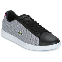 Shoes Women Low top trainers Lacoste CARNABY EVO 117 1 SPW Black