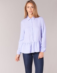 material Women Blouses Betty London HALONI Blue