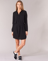 material Women Short Dresses Casual Attitude HONIRE Black