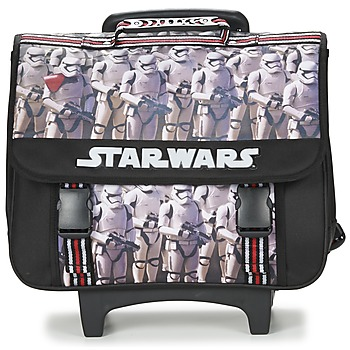 Bags Boy Satchels Dessins Animés CARTABLE 41 CM A ROULETTES Black