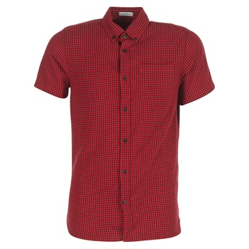 material Men short-sleeved shirts Jack & Jones JOHAN ORIGINALS Red