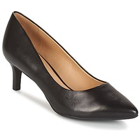 Shoes Women Court shoes Geox D ELINA C - CAPRA NAPPATA Black