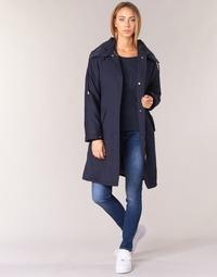 material Women Trench coats Armani jeans MERCHA Marine
