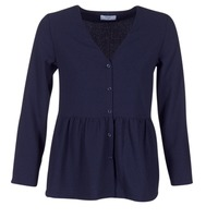 material Women Blouses Betty London HALICE Marine