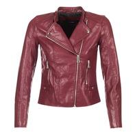 material Women Leather jackets / Imitation leather Vero Moda KERRI BORDEAUX