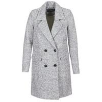 material Women coats Vero Moda FIESTA Grey