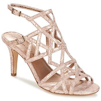 Shoes Women Sandals Tamaris  GOLD / STRUCTURE