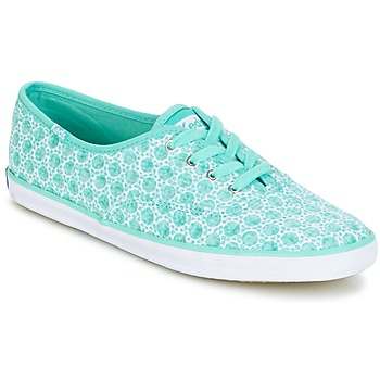 Shoes Women Low top trainers Keds CH EYELET AQUA