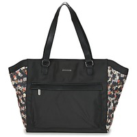 Bags Women Shopper bags Little Marcel NUR Black / Multicoloured