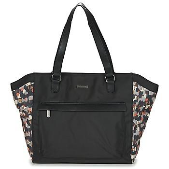 Bags Women Shopper bags Little Marcel NUR Black / Multicoloured