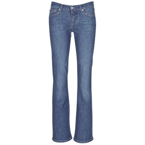 material Women bootcut jeans Betty London IHEKIKKOU BOOTCUT Blue / Medium
