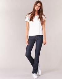 material Women bootcut jeans Yurban HEKIKOU BOOTCUT Blue