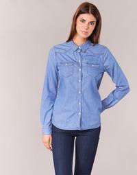 material Women Shirts Yurban HEFOU Blue