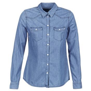 material Women Shirts Yurban IHEFOU Blue