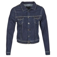 material Women Denim jackets Betty London IHELEFI Blue / Medium