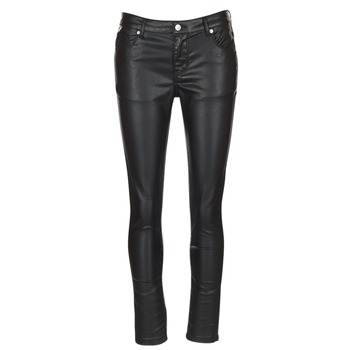 material Women 5-pocket trousers Yurban HENDUI Black