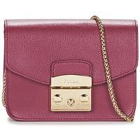 Bags Women Shoulder bags Furla METROPOLIS Raspberry