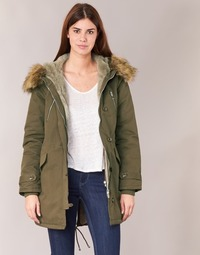 material Women Parkas Betty London HARI Kaki