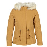 material Women Parkas Only NEW LUCA MUSTARD