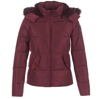 material Women Duffel coats Only RHODA BORDEAUX