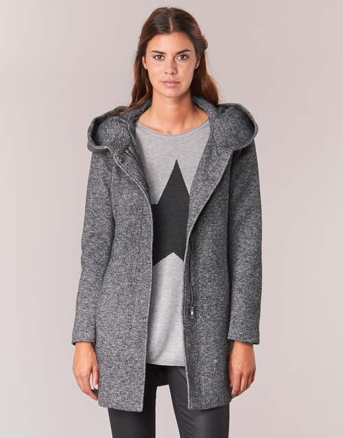 material Women coats Only SEDONA Grey