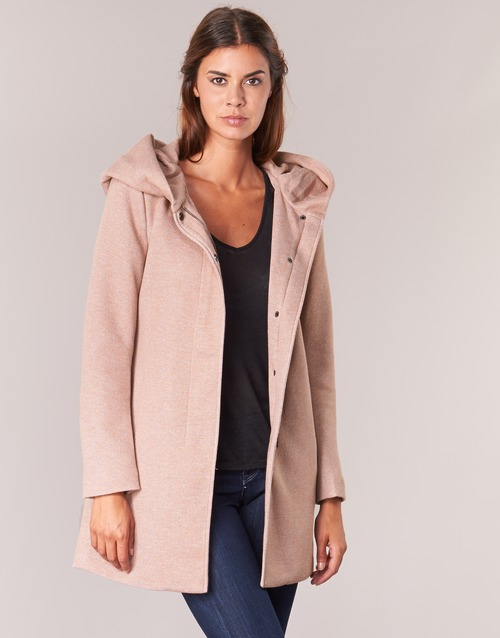 material Women coats Only SEDONA Pink