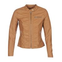 material Women Leather jackets / Imitation leather Only READY COGNAC