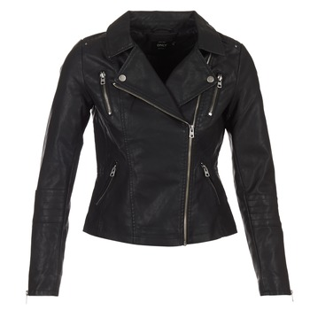 material Women Leather jackets / Imitation leather Only MADDY Black