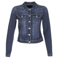 material Women Denim jackets Only WESTA Blue / Dark