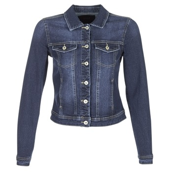 material Women Denim jackets Only WESTA Blue / Dark