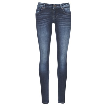 material Women slim jeans Only DYLAN Blue / Dark