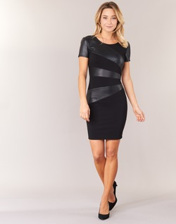 material Women Short Dresses Only MARY Black