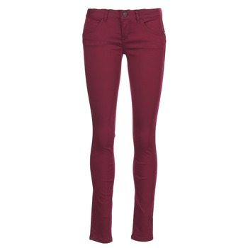 material Women 5-pocket trousers Only LUCIA BORDEAUX