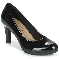 Shoes Women Court shoes Clarks ADRIEL VIOLA  black / Pat