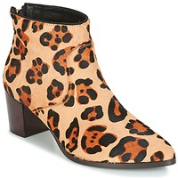 Shoes Women Ankle boots Bocage MELODY Leopard