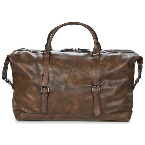 Bags Men Luggage Casual Attitude DAVITO Brown