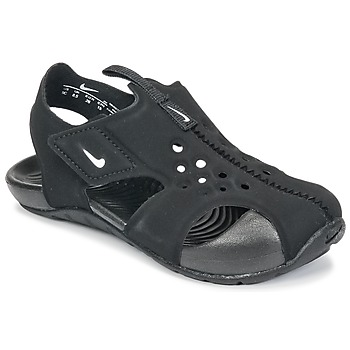 Shoes Children Sandals Nike SUNRAY PROTECT 2 TODDLER Black / White