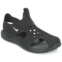 Shoes Boy Sandals Nike SUNRAY PROTECT 2 CADET Black / White