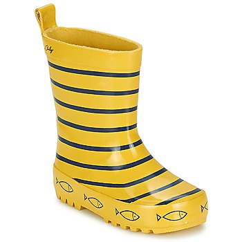 Shoes Children Wellington boots Be Only TIMOUSS Yellow / Blue