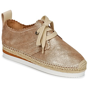 Shoes Women Espadrilles See by Chloé SB30222 Gold