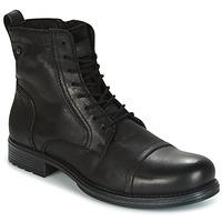 Shoes Men Mid boots Jack & Jones RISSOL Black
