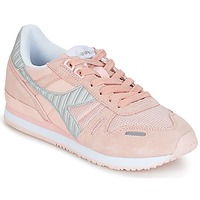 Shoes Women Low top trainers Diadora TITAN II W Pink