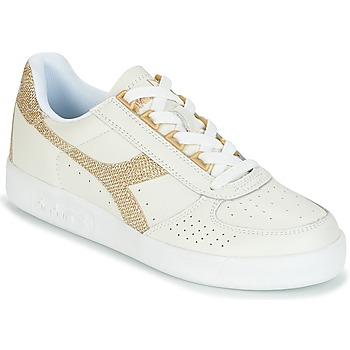 Shoes Women Low top trainers Diadora B ELITE I WN White / Gold