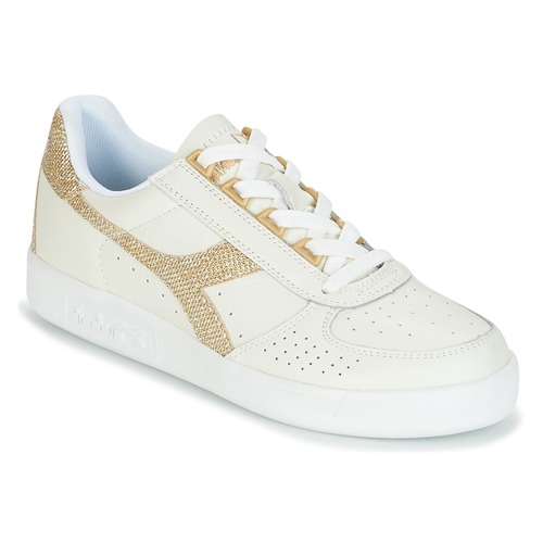 B.ELITE - Sneaker low - white/gold Top-Qualität Online nCQmOu3j8