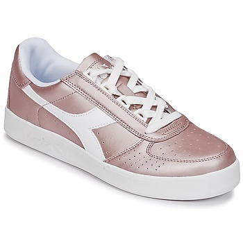Shoes Women Low top trainers Diadora B ELITE I METALLIC WN Bronze