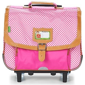 Bags Girl Rucksacks / Trolley bags Tann's LES CHICS FILLES TROLLEY CARTABLE 38CM